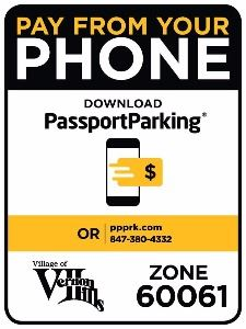 Passport Parking Info