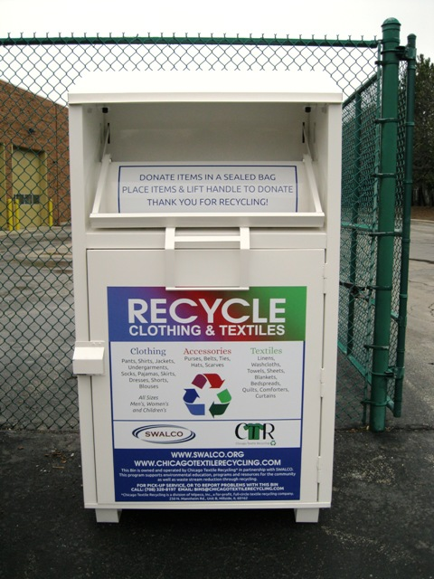 Textile Recycling Box